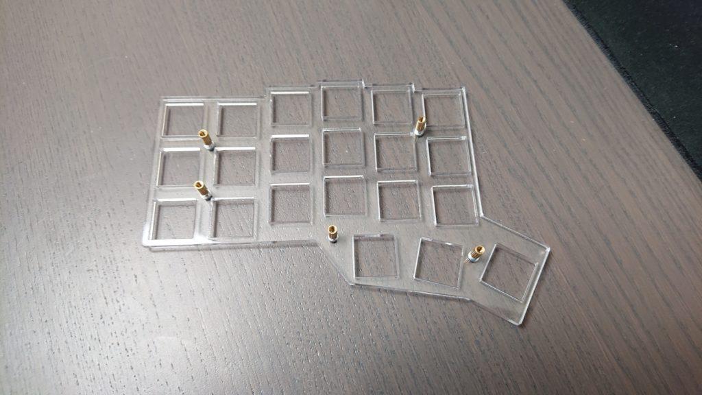 Corne Keyboard (Helidox) build log – Thomas Baart